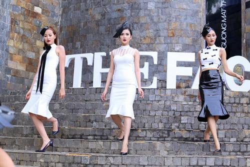 """Quỳnh Mai """"siêu vòng 3"""" đánh bật An Nguy ở The Face - 14"""