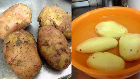 Tự làm khoai lang, khoai tây lắc phô mai tại nhà - 4