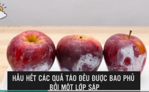 Mẹo hay phát hiện táo chứa chất độc bằng nước nóng - 2