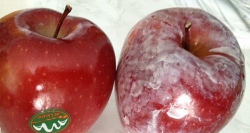 Mẹo hay phát hiện táo chứa chất độc bằng nước nóng - 3