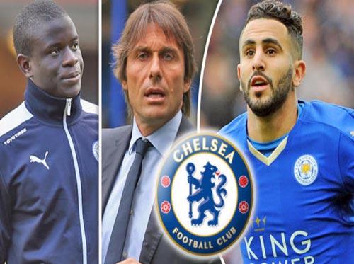 Sau Kante, Chelsea tính cuỗm nốt Mahrez của Leicester - 1