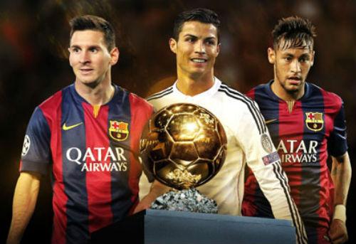 """Đến lượt Neymar """"dâng"""" Quả bóng vàng cho Ronaldo - 1"""