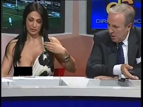 """""""Dở khóc dở cười"""" vì sự cố váy áo trên sóng truyền hình - 3"""