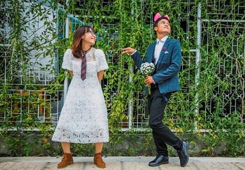 Cặp đôi Vũng Tàu chụp ảnh cưới bên thùng rác - 8