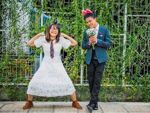 Cặp đôi Vũng Tàu chụp ảnh cưới bên thùng rác - 9