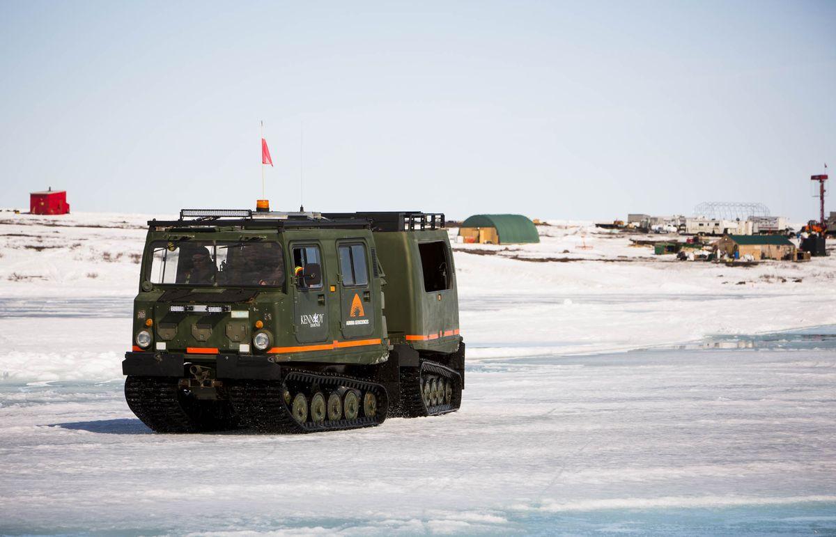 Săn kim cương dưới lớp băng sâu tại Canada - 4