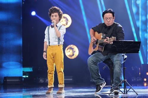 Hồ Văn Cường ngơ ngác giành chiến thắng Vietnam Idols Kid - 12