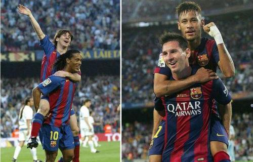 Với Ronaldinho, Messi vẫn là cầu thủ xuất sắc nhất - 1