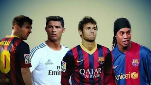 Với Ronaldinho, Messi vẫn là cầu thủ xuất sắc nhất