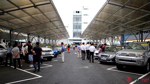 Tham quan chợ xe hơi theo kiểu Mỹ tại TP.HCM - 1