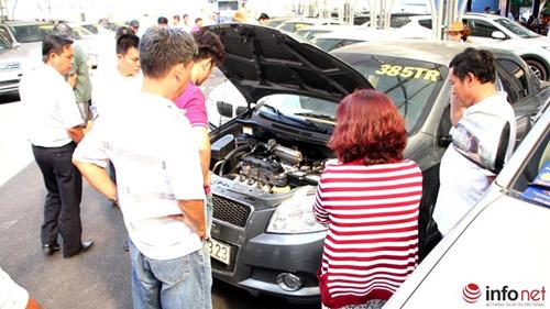 Tham quan chợ xe hơi theo kiểu Mỹ tại TP.HCM - 11