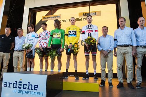 Tom Dumoulin lần thứ hai giành ngôi quán quân tại Tour de France 2016 - 2