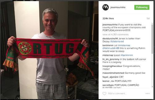 Mải xem CR7 vô địch Euro, Mourinho bị trộm viếng thăm - 5