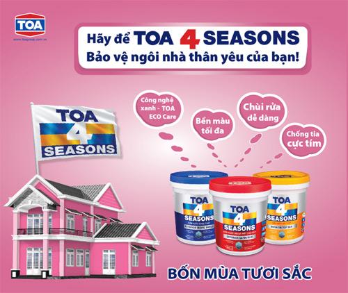 TOA 4 Seasons & hình ảnh nhận diện thương hiệu mới - 1