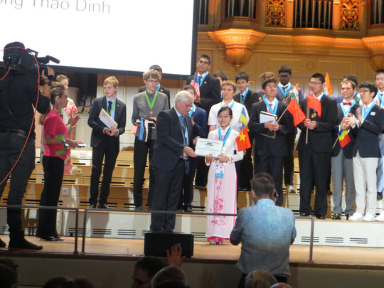 Việt Nam giành 5 huy chương Olympic Vật lý quốc tế - 1