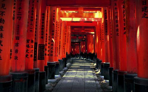 Fushimi Inari, ngôi đền ngàn cổng kỳ lạ ở Nhật Bản - 4