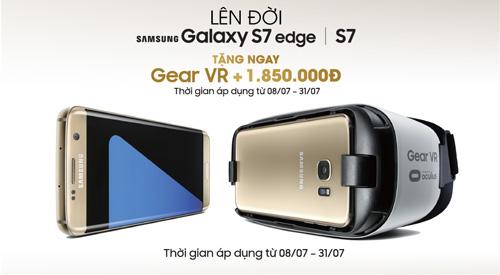 Lên đời Samsung Galaxy S7/S7 Edge tặng kính Gear VR - 1