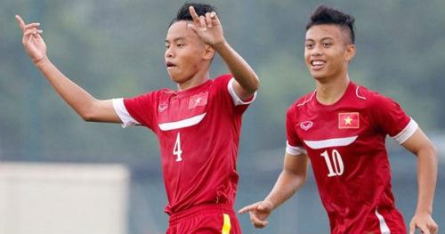 """Chơi bùng nổ, U16 Việt Nam nhận """"quà"""" bất ngờ - 1"""