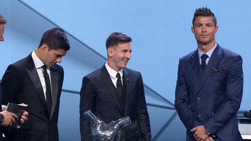 Cầu thủ hay nhất châu Âu: Messi khó đấu lại Ronaldo - 2