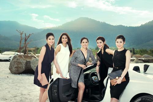 """Sốc vì chi phí """"khủng"""" của bộ ảnh chụp 7 Hoa hậu, Á hậu - 12"""