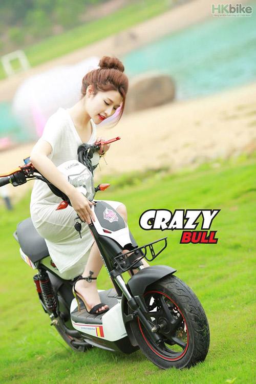 Xe máy điện HKbike Crazy Bull: dồn dập bán ra vẫn thiếu hàng - 1