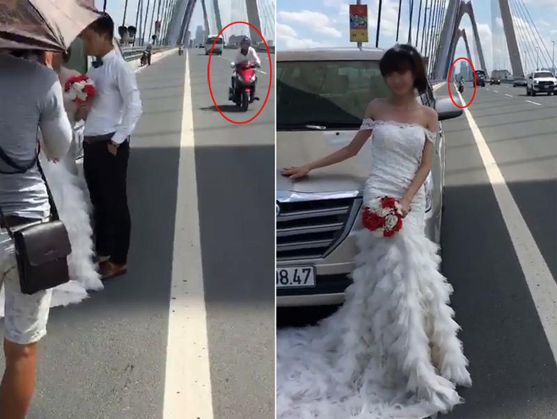 """Clip: Leo cầu Nhật Tân chụp ảnh, cô dâu giỡn mặt """"tử thần"""" - 3"""