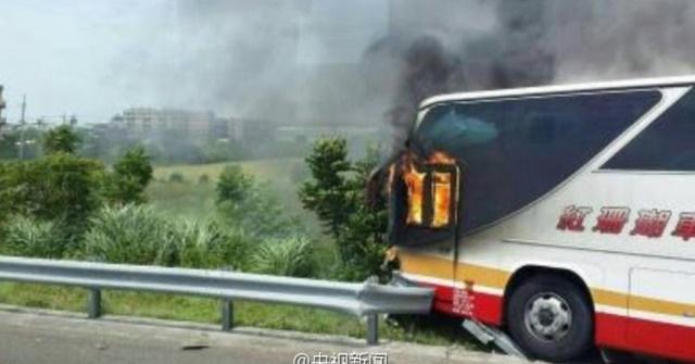 23 du khách TQ chết thảm vì xe buýt cháy ở Đài Loan - 2
