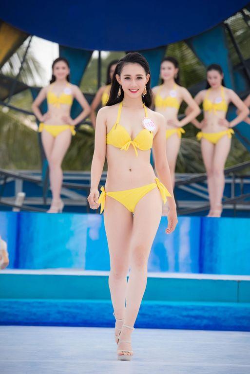Thí sinh HHVN diễn bikini tranh giải Người đẹp biển - 6
