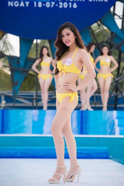 Thí sinh HHVN diễn bikini tranh giải Người đẹp biển - 13