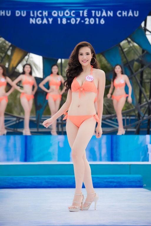 Thí sinh HHVN diễn bikini tranh giải Người đẹp biển - 11