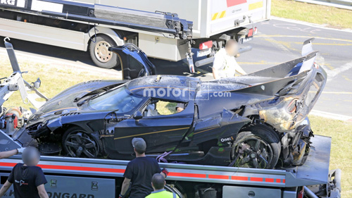 Koenigsegg One:1 giá 2 triệu đô tan tành tại Nürburgring - 11