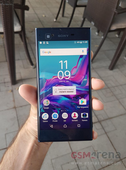 Điện thoại cao cấp Sony Xperia F8331 bị lộ ảnh - 1