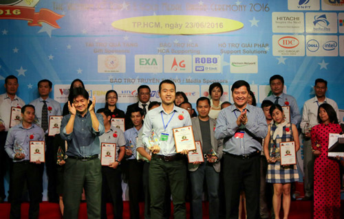 Gặp gỡ chàng giám đốc trẻ đạt Huy chương vàng ICT Vietnam 2016 - 2