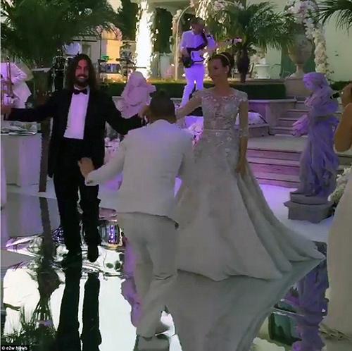 Đám cưới xa hoa con gái tỷ phú bất động sản Nga - 3