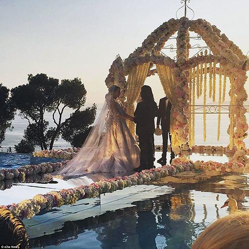 Đám cưới xa hoa con gái tỷ phú bất động sản Nga - 7