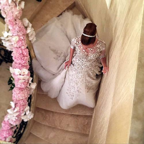 Đám cưới xa hoa con gái tỷ phú bất động sản Nga - 6