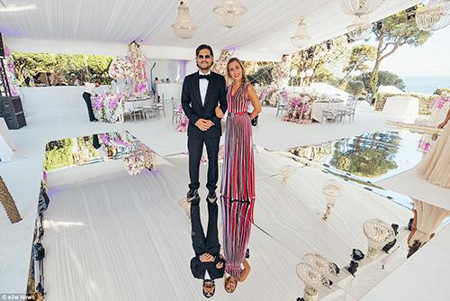 Đám cưới xa hoa con gái tỷ phú bất động sản Nga - 13