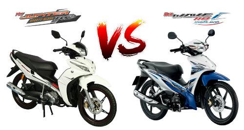 Nên chọn mua Yamaha Jupiter RC hay Honda Wave 110i? - 1