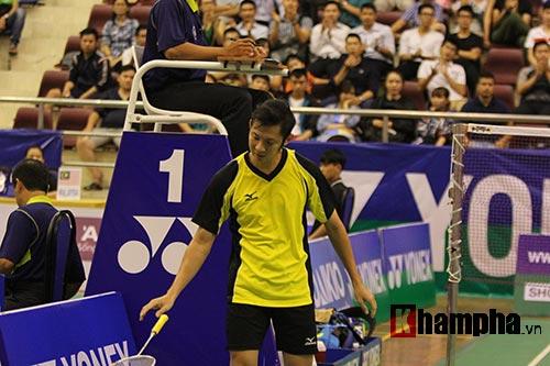 Tiến Minh bỏ cuộc ở vòng đầu giải cầu lông quốc tế 2016 - 3