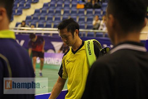 Tiến Minh bỏ cuộc ở vòng đầu giải cầu lông quốc tế 2016 - 5