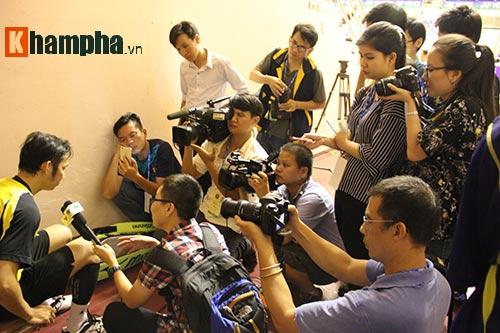Tiến Minh bỏ cuộc ở vòng đầu giải cầu lông quốc tế 2016 - 6