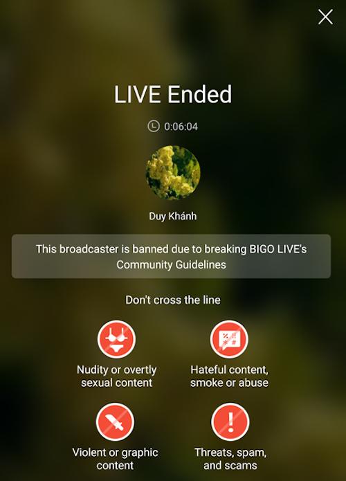 Mạng xã hội đang mạnh tay thanh lọc live stream vi phạm - 1