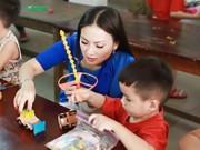 Ca nhạc - MTV - Em gái tỷ phú của Cẩm Ly đưa 2 con gái về nước
