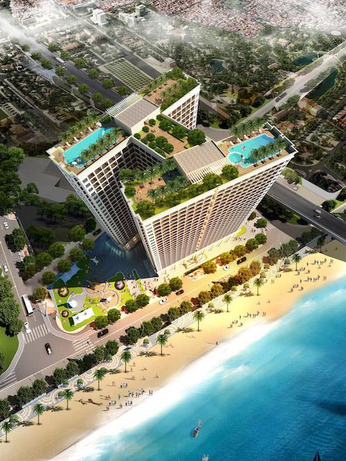 Khai trương căn hộ - khách sạn mạ vàng Hoà Bình Green Đà Nẵng - 1