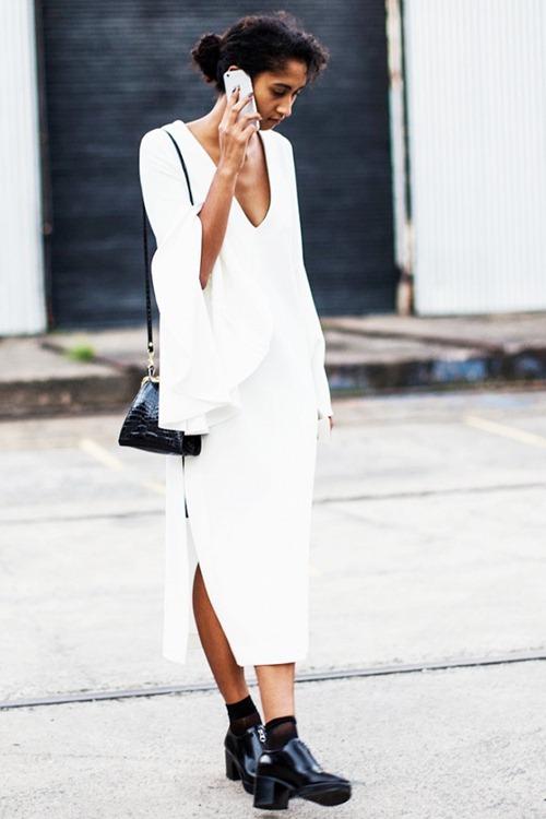 Mặc màu trắng thế nào để không bị nhàm chán? - 15