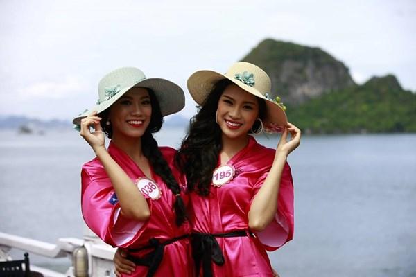 Dàn mỹ nữ Hoa hậu Việt Nam gợi cảm trên du thuyền 5 sao - 3