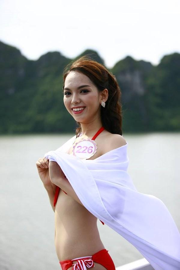 Dàn mỹ nữ Hoa hậu Việt Nam gợi cảm trên du thuyền 5 sao - 7
