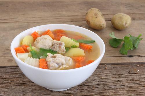 Hạt nêm thế hệ mới xương hầm rau củ giúp bổ sung vitamin A, C, D - 1