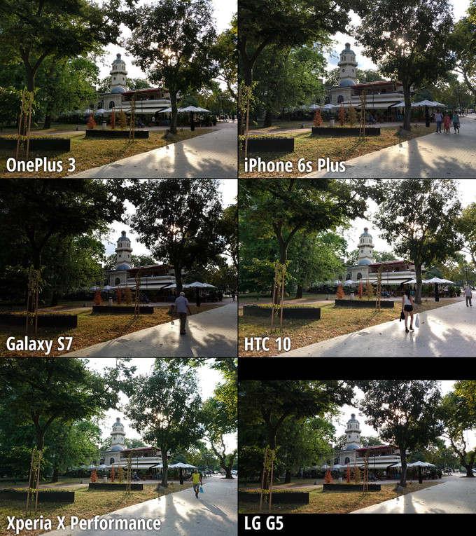 Smartphone đình đám đọ camera - 4