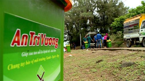 An Trĩ Vương chung tay giữ sạch môi trường biển đảo Lý Sơn cùng HHVN 2016 - 2